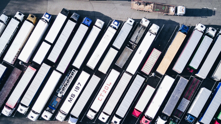 truck, trucking, shipping, containers, logistics